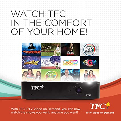 TFC IPTV Set-Top Box PREPAID Premium Package