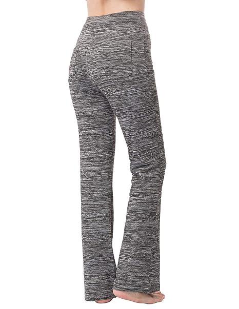 Amazon.com: Zexxxy - Pantalones de yoga para mujer, estilo ...