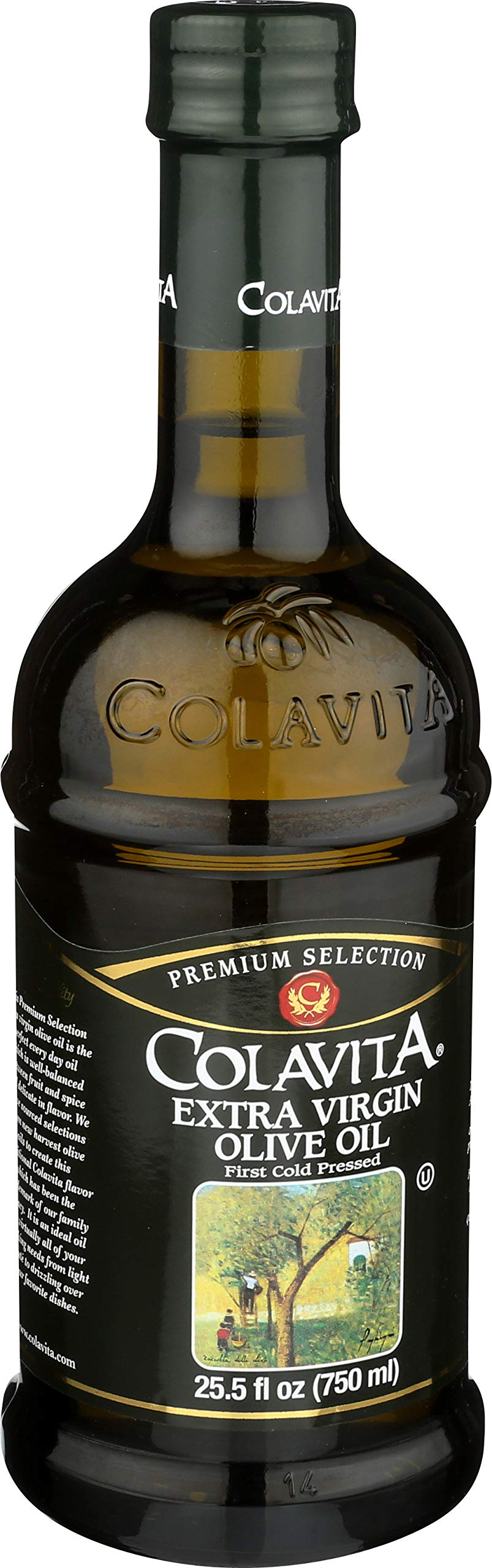 Colavita Extra Virgin Olive Oil, First Cold Pressed, 25.5 fl. oz., Glass Bottle by Colavita (Image #8)
