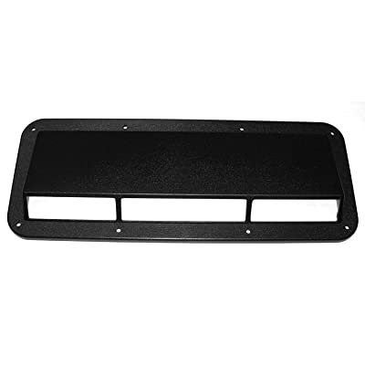 Rugged Ridge 13307.01 Smoke Hood Scoop: Automotive