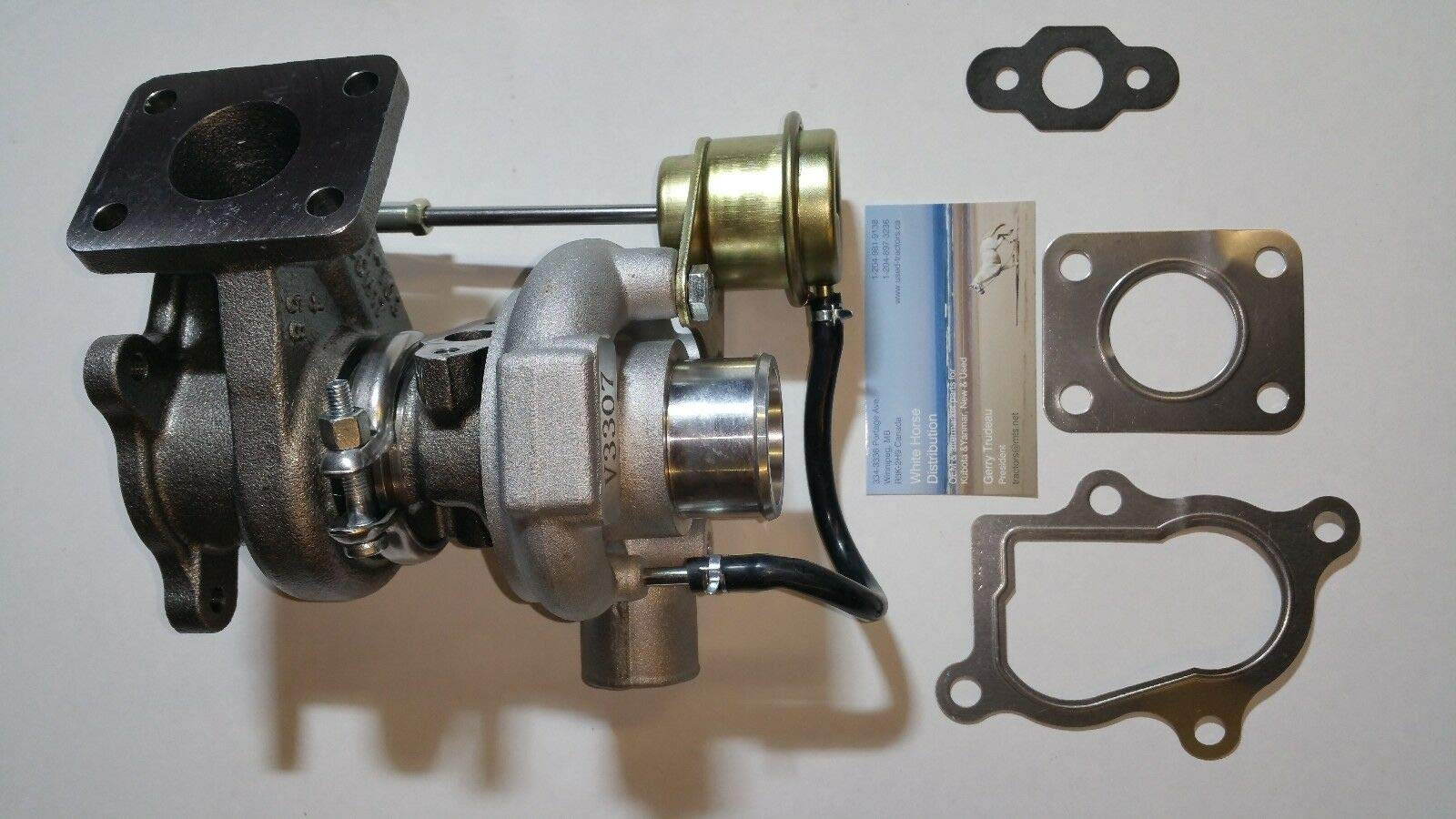 WHD New Turbo for Bobcat T190, 6675676 with V2003 Engine NO CORE Charge