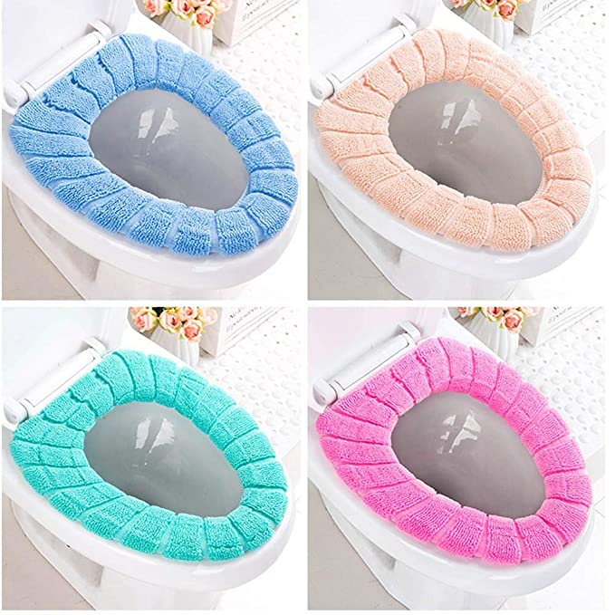 Amazon.com: 5 almohadillas de asiento de inodoro de ...