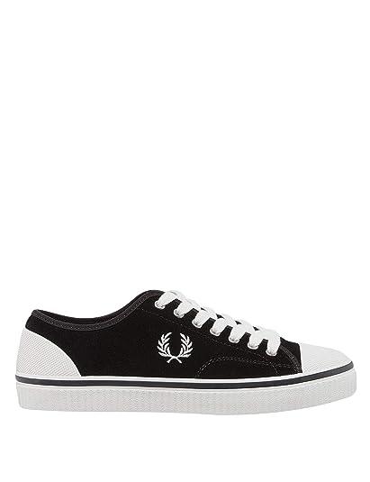 3031d99da502c Amazon.com: Fred Perry Men's Hughes Low Suede: Shoes