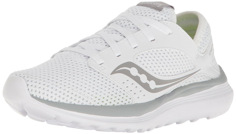 Saucony Women's Kineta Relay Running Shoe B005BESS6S 8 B(M) US|White/Grey