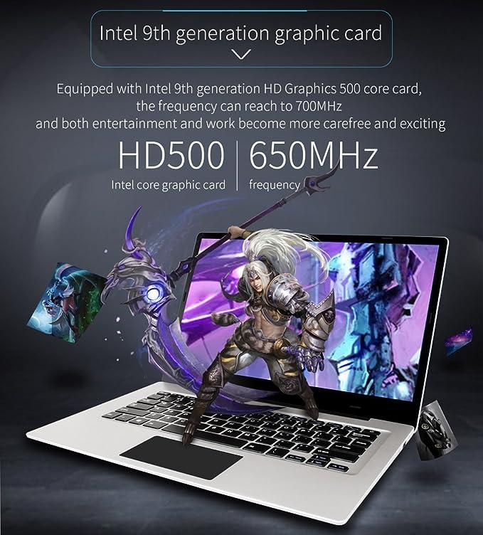 cúpula 3 Notebook - Windows 10, 14 Pulgadas Full HD Pantalla, GB Memoria Interna, Intel Apollo Lake n3350 CPU, GB De RAM, 1.3 kg: Amazon.es: Informática