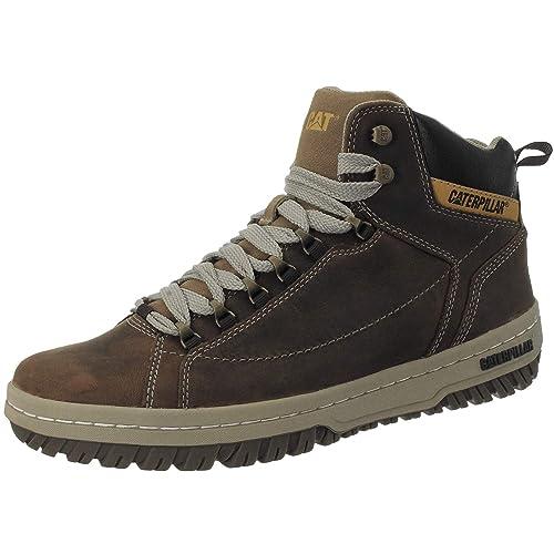 9914244eb CAT zapatos de Caterpillar Apa HI Oscuro Beige Café P711589  Amazon.es   Zapatos y complementos