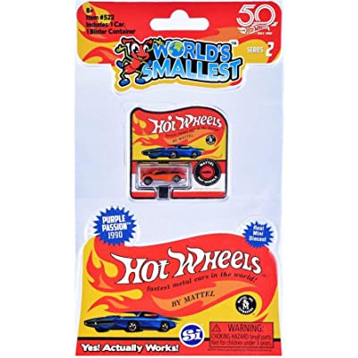 Worlds Smallest Hot Wheels Series 2 - Fast Fish: Toys & Games
