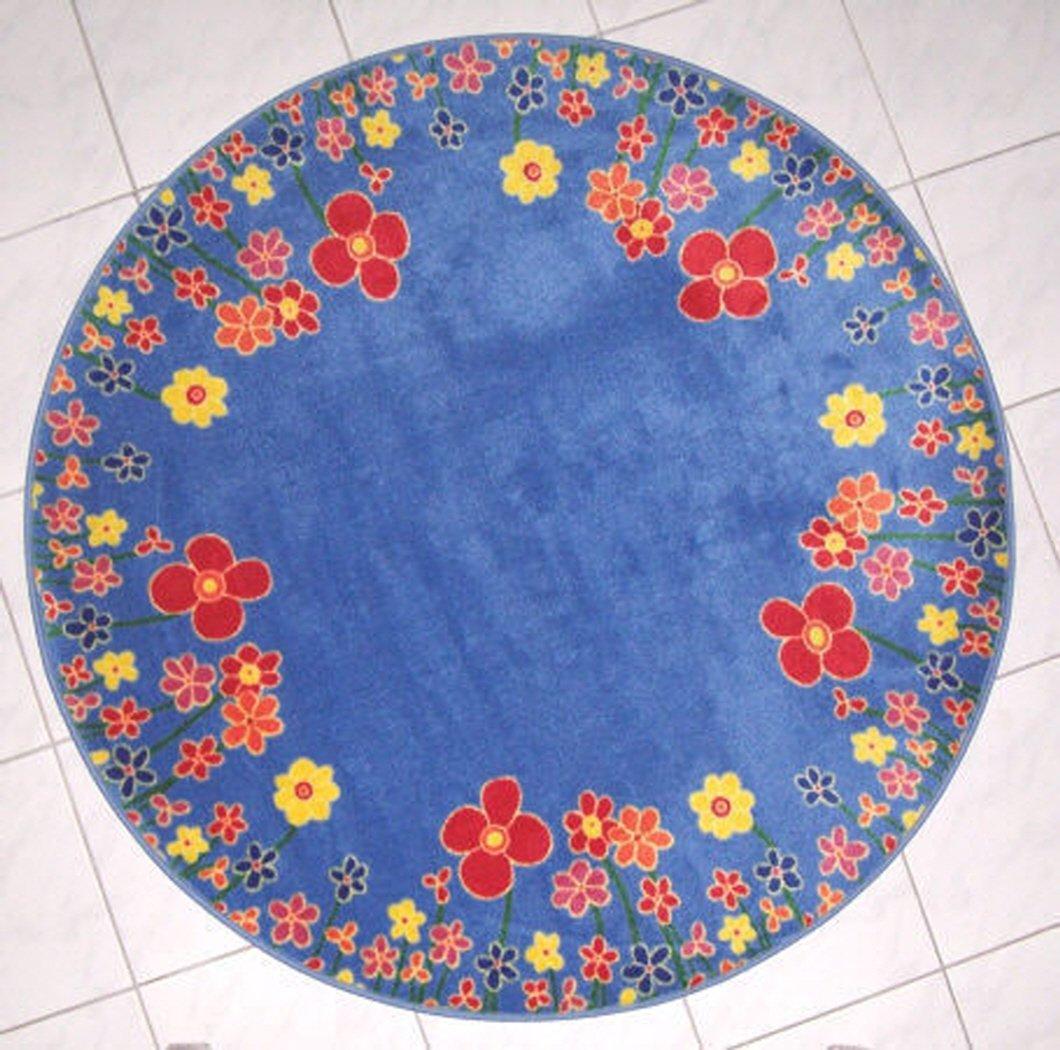 Carpet for Kids  Kinderteppich Blumenhimmel 200 cm rund