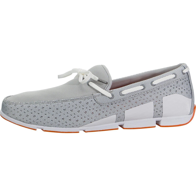 SWIMS Breeze Lace in Gray/White/Orange, Size 10
