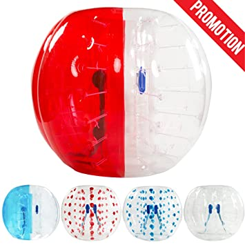 amazingsportstm burbuja traje de pelotas de fútbol de diámetro 5 1,5 m burbuja