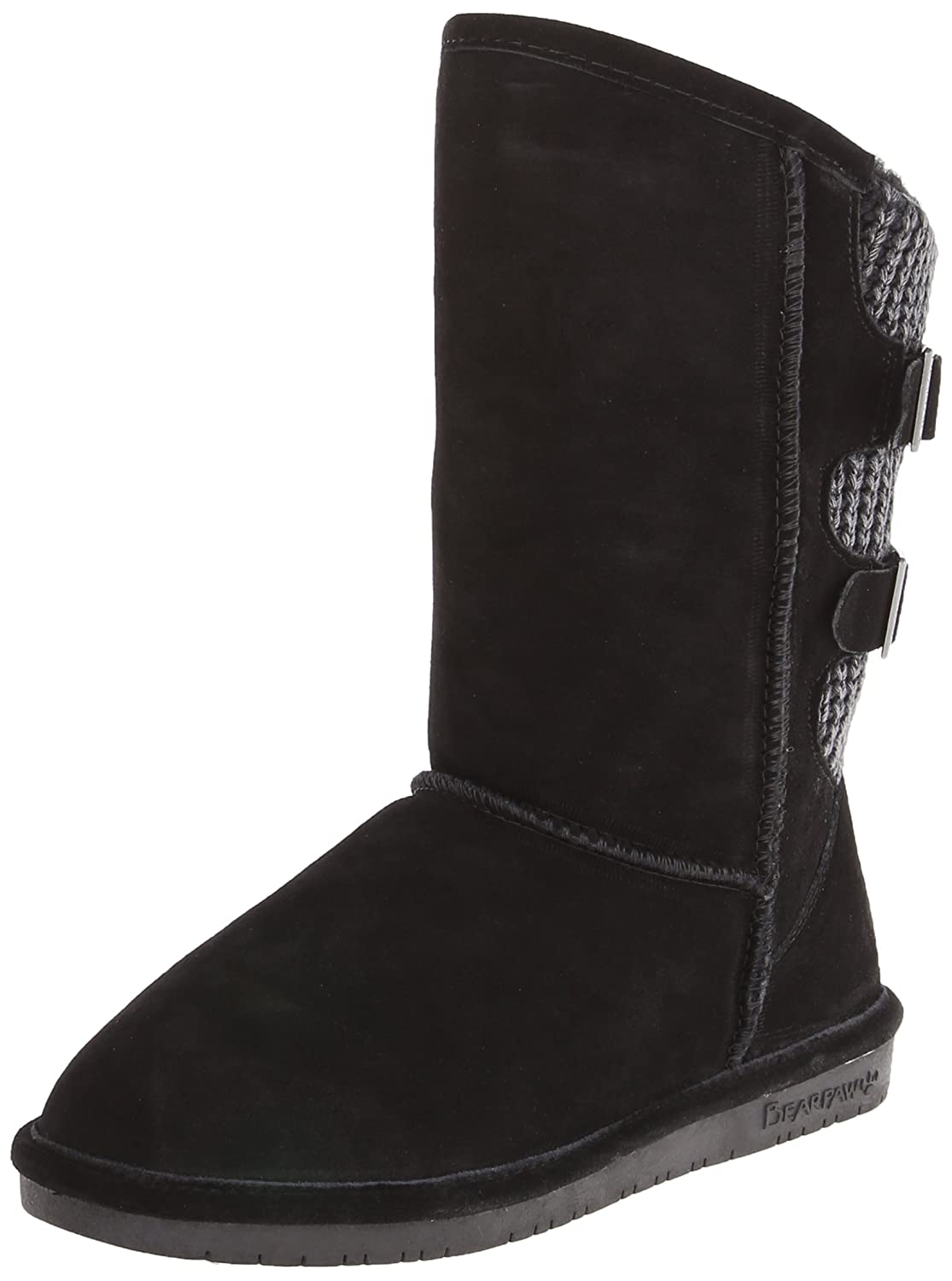 BEARPAW Women's Boshie Winter Boot B07D8JTG3V 6 W US|Black