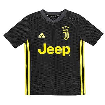adidas Juventus Third Jersey Camiseta, Niños: Amazon.es: Deportes y aire libre
