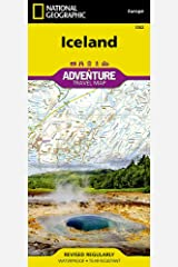 Iceland (National Geographic Adventure Map, 3302) Map