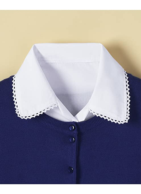 1930s Style Blouses, Shirts, Tops | Vintage Blouses Crochet-Trim Collar Dickey $7.99 AT vintagedancer.com