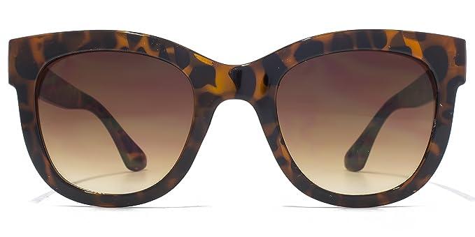 M:UK Hoxton D grosso telaio occhiali da sole tartarugati MUK147854 One Size Brown Gradient xMAcC38Ftk