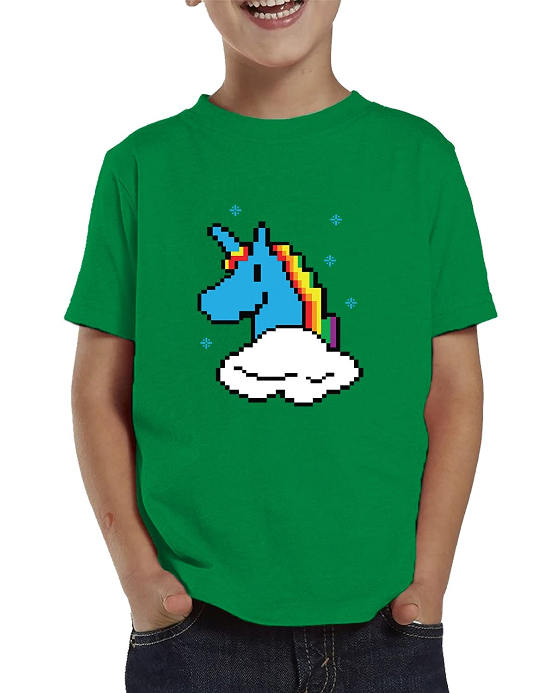 SpiritForged Apparel 8-Bit Unicorn Toddler T-Shirt