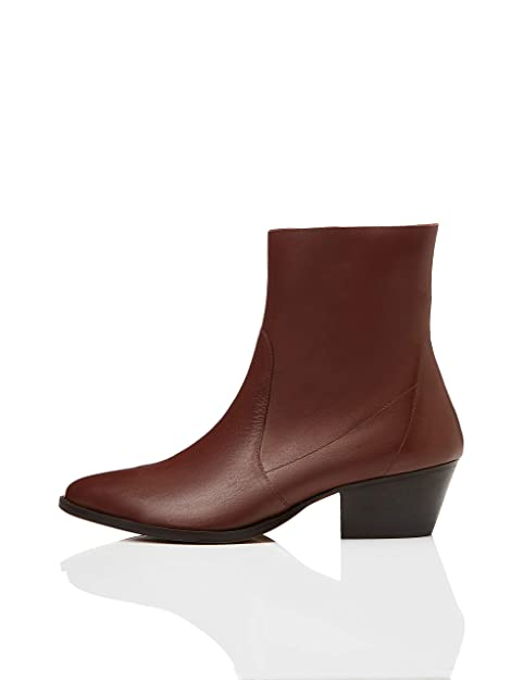 am besten authentisch 100% authentisch große sorten Amazon-Marke: find. Unlined Western Leather Damen Stiefeletten
