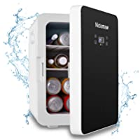 Deals on Nictemaw Mini Fridge with LCD Display and Digital Thermostat