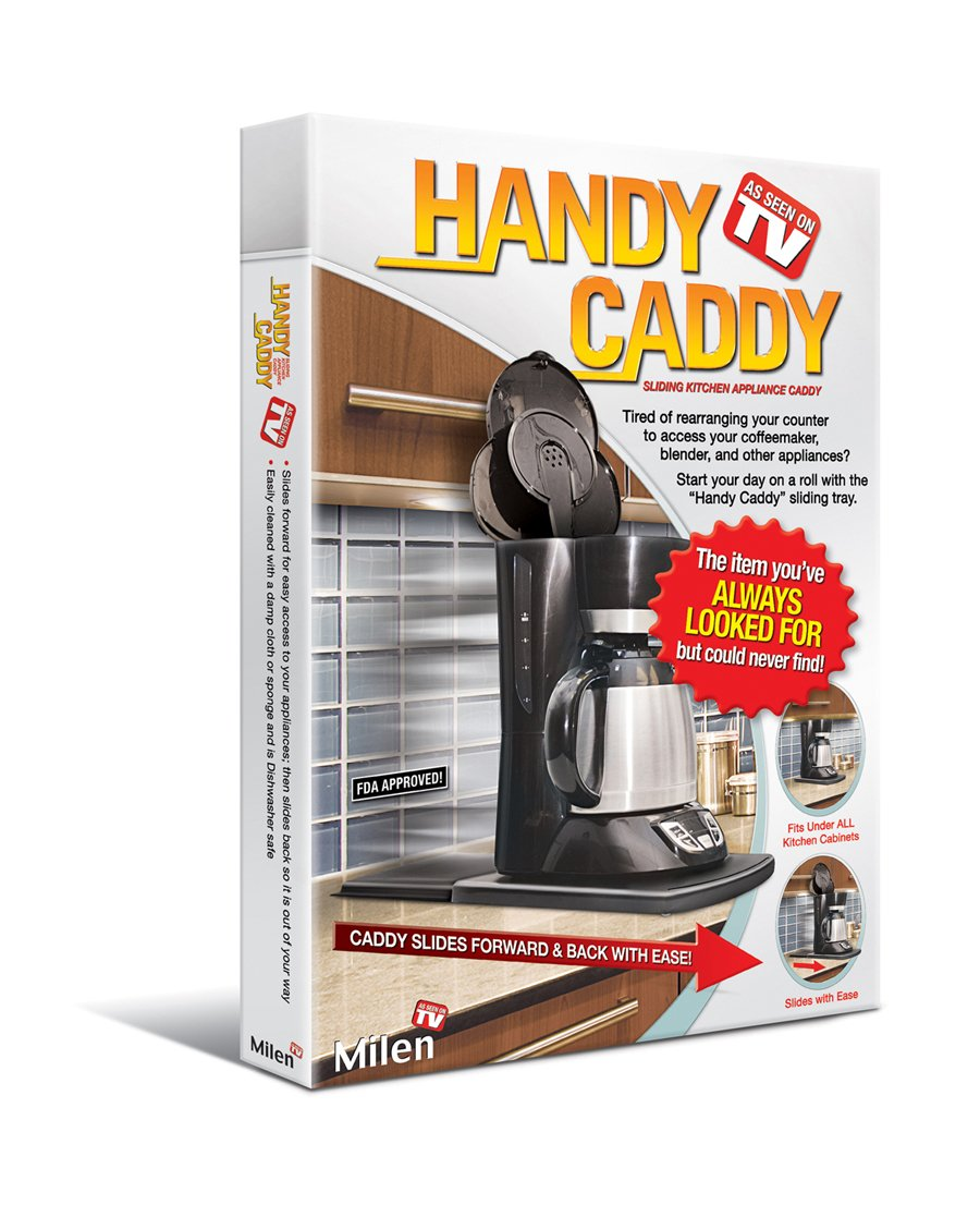 Uncategorized Handy Caddy Kitchen Appliance Tray amazon com handy caddy sliding kitchen under cabinet appliance moving tray dining