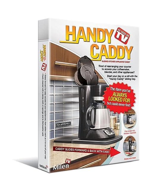 Amazon.com: Handy Caddy Sliding Kitchen Under Cabinet Appliance Moving  Caddy: Home U0026 Kitchen