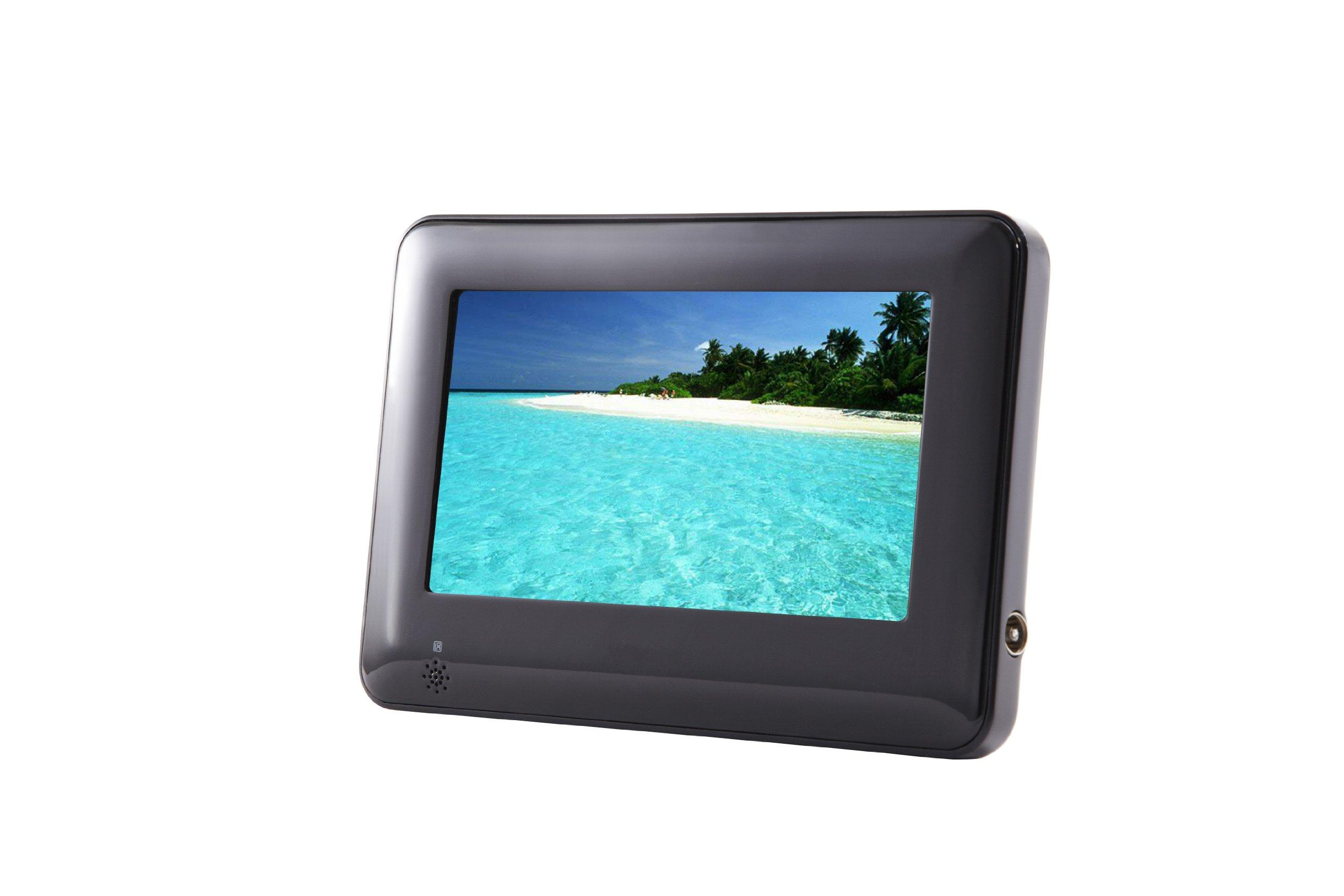 Sylvania SDVD7061 7-Inch Portable Tablet DVD/CD/MP3 Player, Built-In USB/SD Card Reader and Car Bag/Kit (Black)