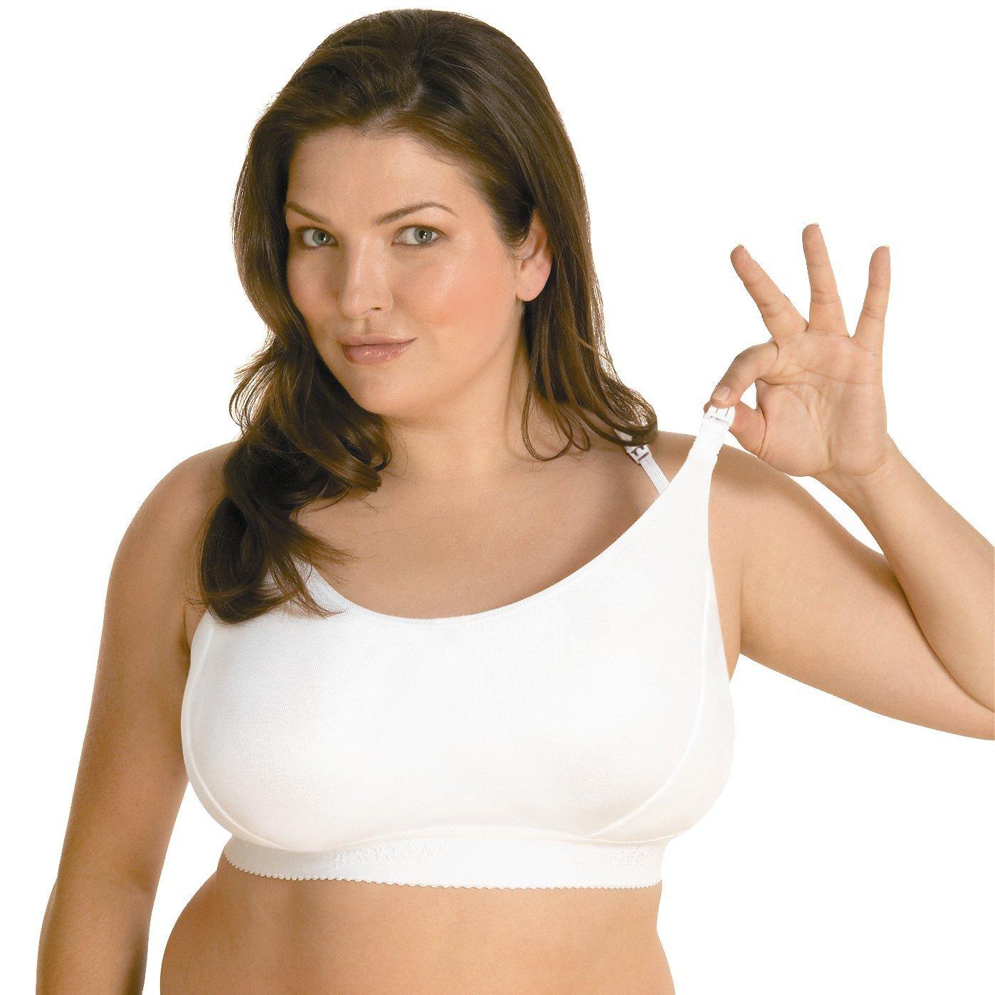 Bravado Maternity/Nursing Bra (M++, White)
