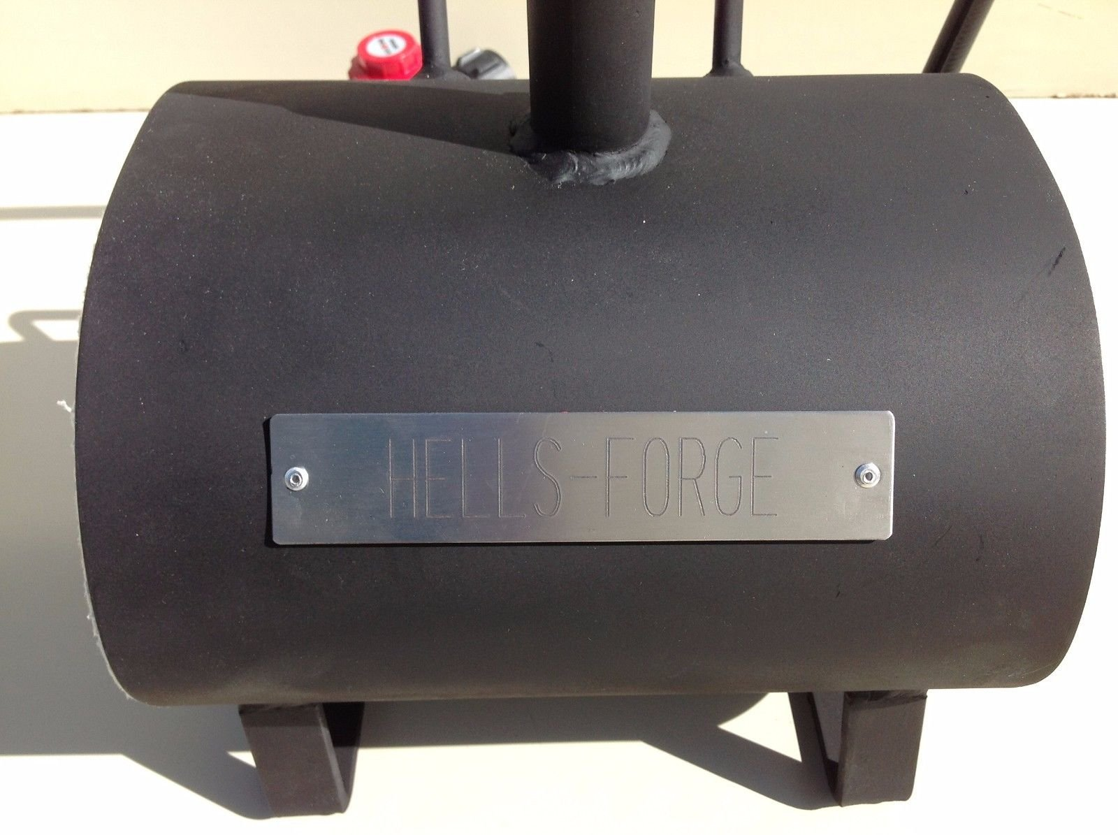 Hell's Forge Portable Propane Forge Single Burner Knife and Tool Making Farrier Forge MADE IN THE USA by Hell's Forge (Image #2)