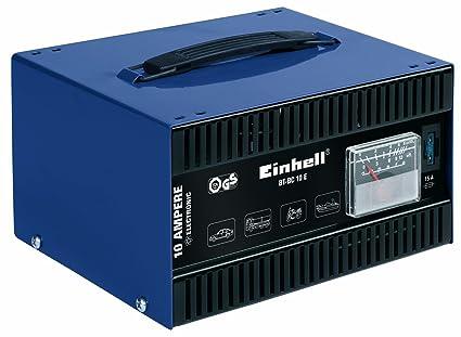 Einhell 430565 Cargador para batería, Negro, Azul