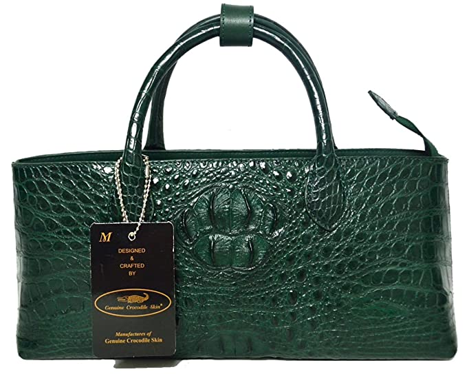 Amazon.com: Authentic M Piel de Cocodrilo Womens hornback ...
