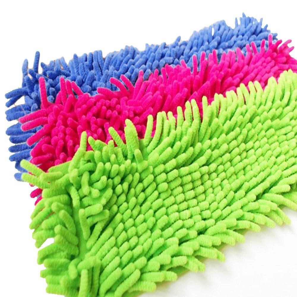 Happy Home–Spare Mop–Microfibre–40cm–Set of 3 HV