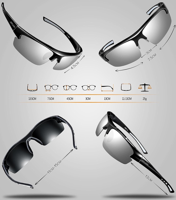Amazon.com: SIPLION - Gafas de sol polarizadas para hombre ...