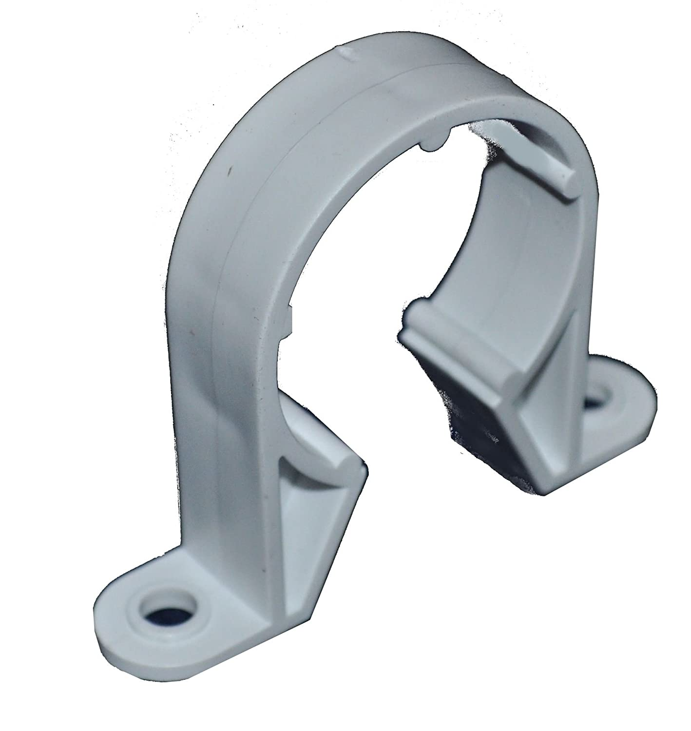 NEW Pipe Clip 40mm Black plumbing Waste pipe  Each