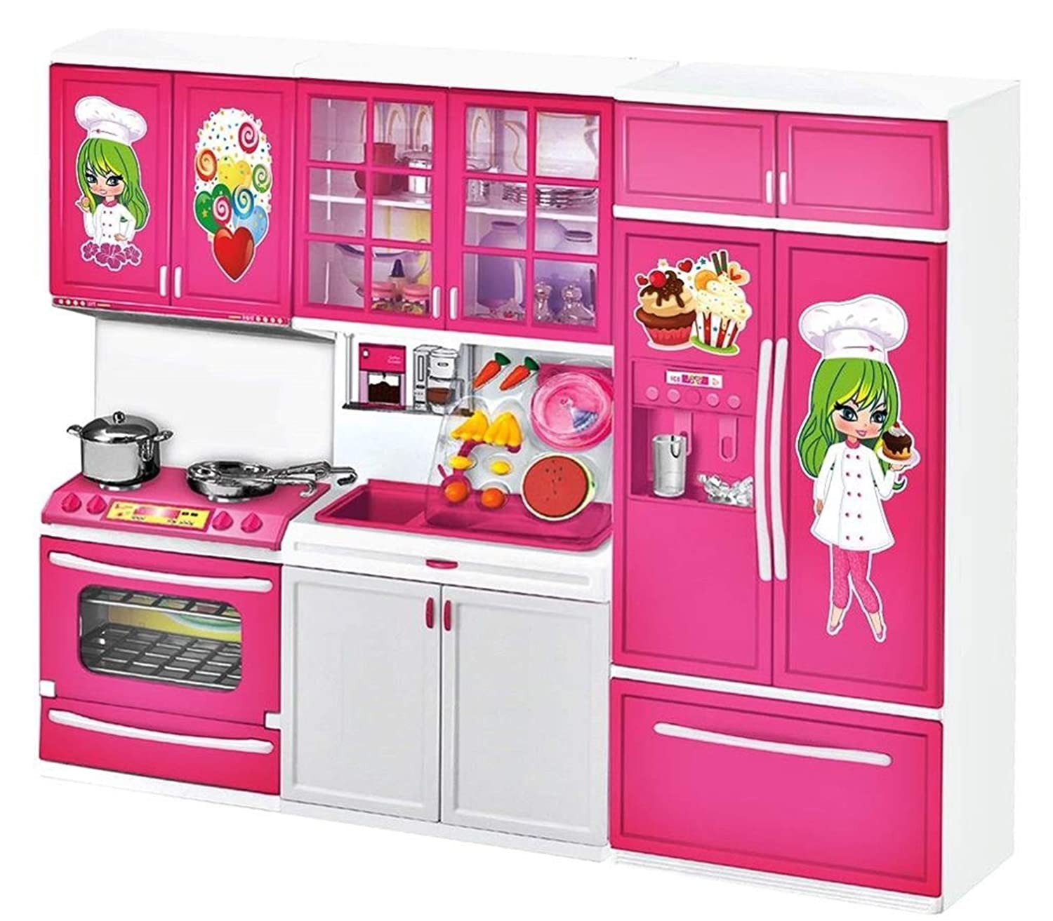 Buy Vivir Doll Kitchen Set For Kids Girls Pretend Play Toy For