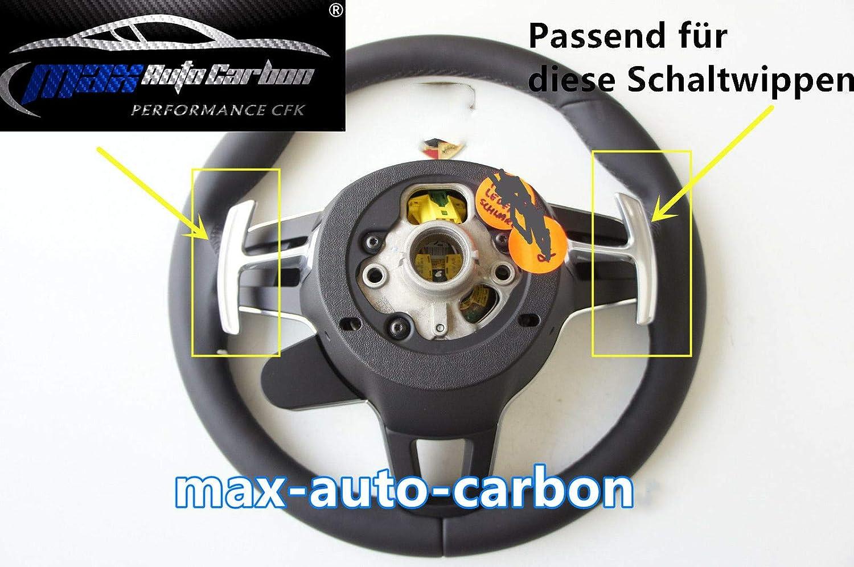 Max Auto Carbon Interruttore a bilanciere in Carbonio Adatto per Porsche 911//Panamera//Macan//Cayenne//718//Boxster Cayman.