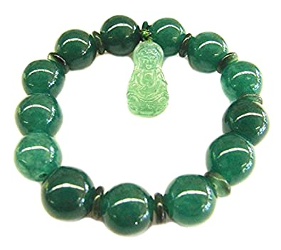bracelet light com green usauctionbrokers balls gold with jade details