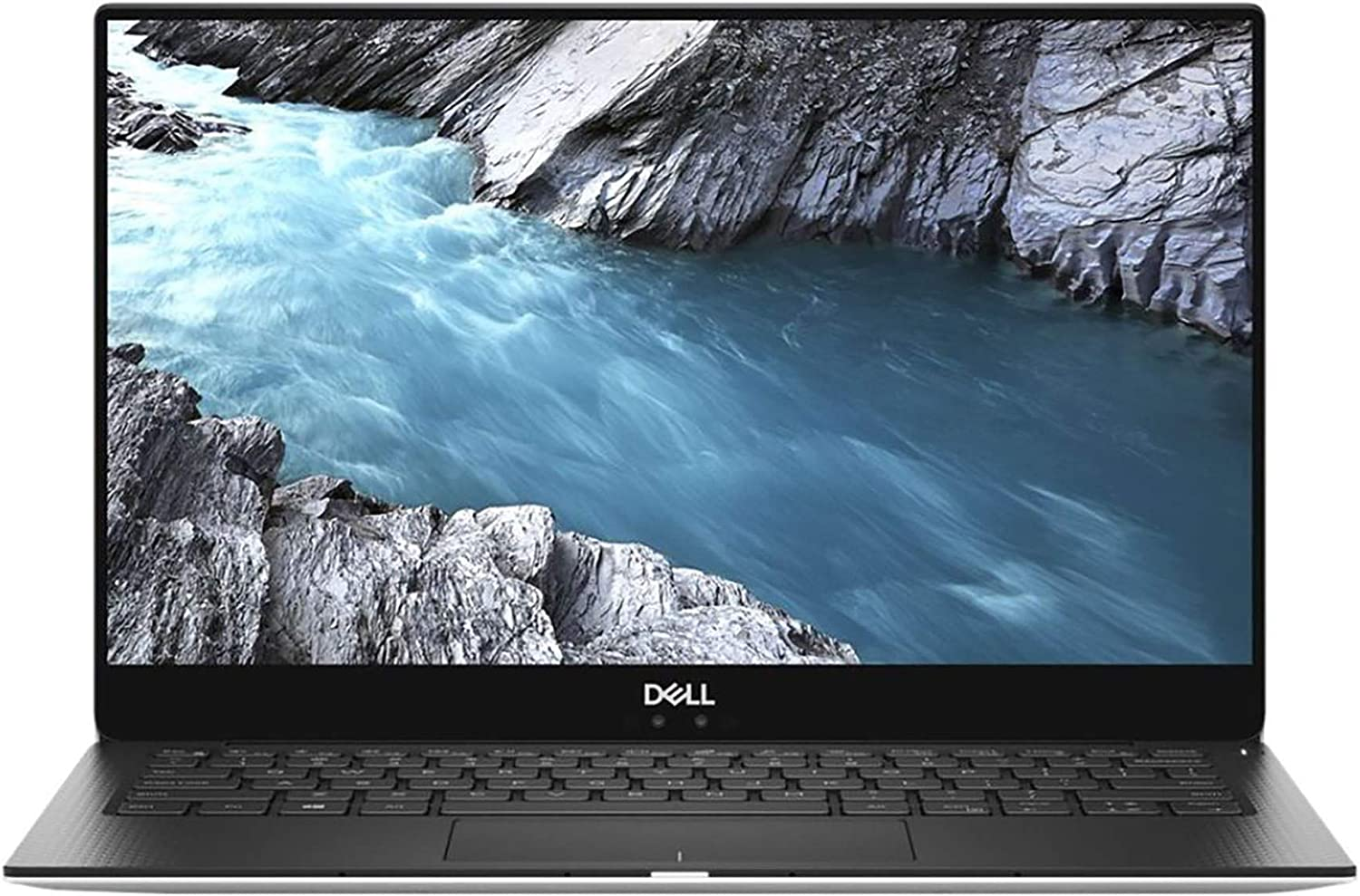 "Dell XPS 9370 3840 x 2160 Touchscreen LCD Laptop with Intel Core i7-8550U Quad-Core 1.8 GHz, 8GB RAM, 256GB SSD, 13.3"" (FJ7FF)"
