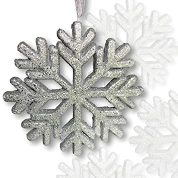 Amazon Com Banberry Designs Large Snowflake Decorations