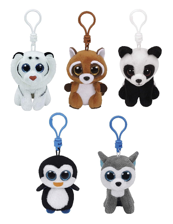 4 Gorilla Plush Stuffed Animal Clip On Keychain stuffed animals New Stuffed Animals