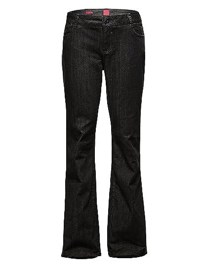 51e07e05b4e Bootcut Jeans Women Plus Size Relaxed Fit Baggy Leg Straight Jeans ...
