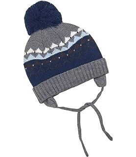 d5d4ab8a40a BabyPrem Baby Toddler Hat Fair Isle Ear Flap Pom Pom Winter Clothes Pink  Blue