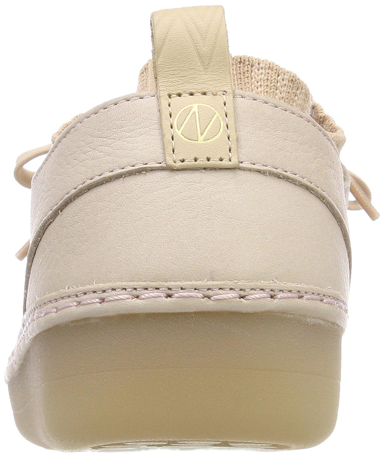 Clarks Pink Damen Nature Iv. Sneaker Pink Clarks (Nude Pink Lea) 5b85b0