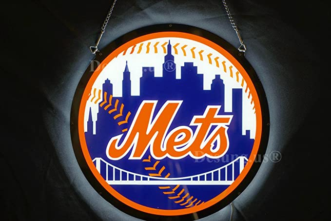 Desung us Revolutionary Sports Union NYMets LED Neon Light
