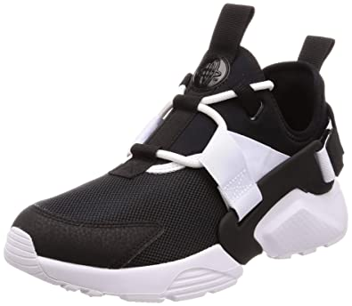 29e409f02a27 Nike Women s Huarache City Low Black Black-White