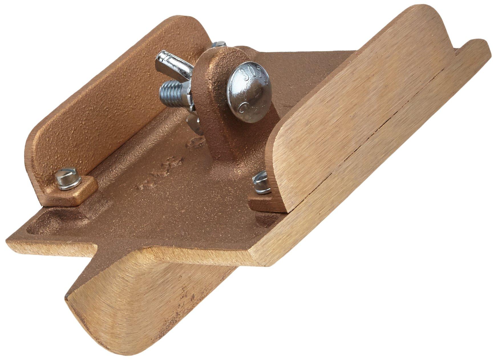 Kraft Tool CC314SR-01 6-Inch by 4-1/2-Inch Side Railed Bronze Walking Grover