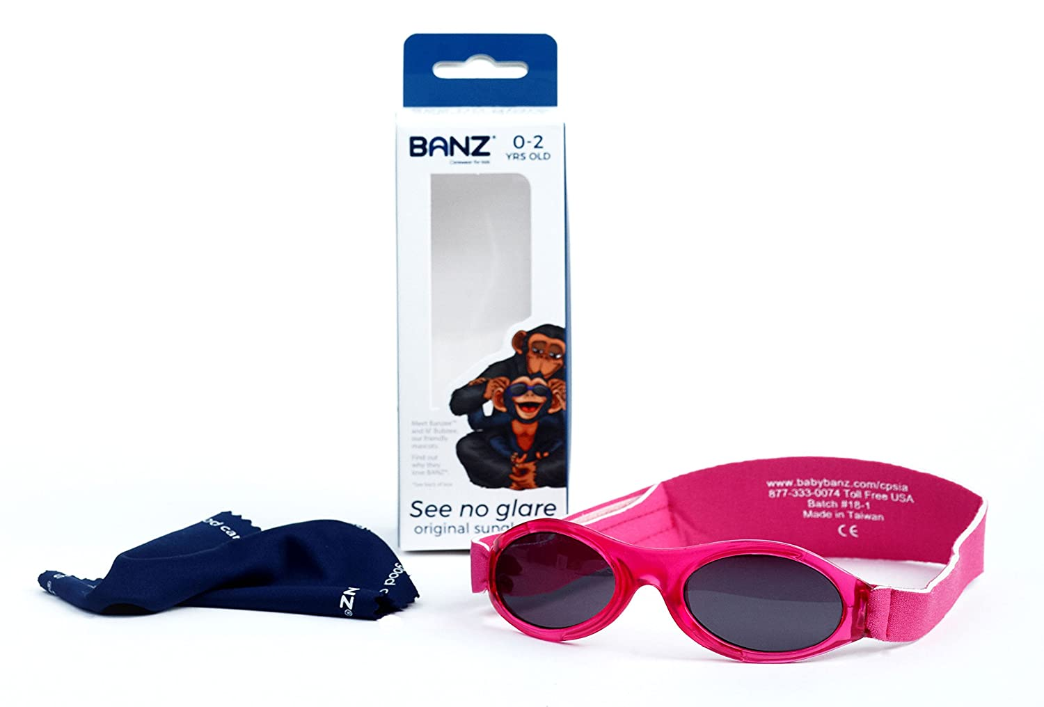 Baby Banz Bubzee Sunglasses for Babies from 0 to 2 years. Blue Camo. BZS