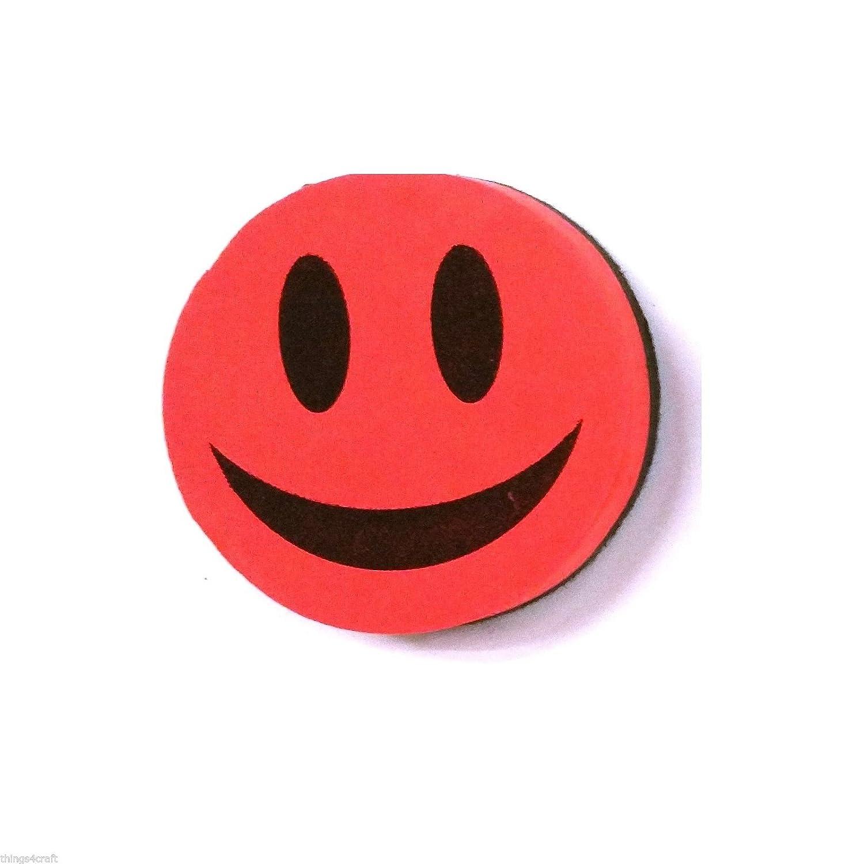 Gomme Tableau blanc effaçable à sec–Smiley 2 Pack Green