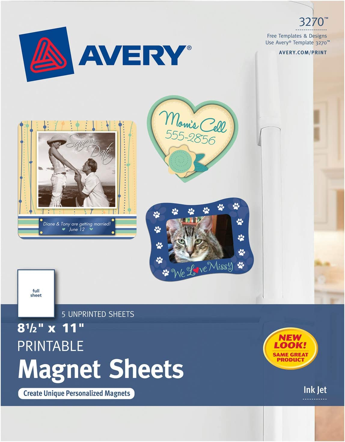 MAGNETIC PHOTO PAPER 10 PACK A4 GLOSS INK JET PRINTABLE DIY PROJECT FRIDGE PAPER