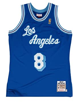 Mitchell & Ness - Camiseta visitante auténtica de Los Angeles Lakers de Kobe