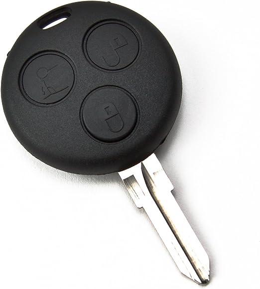 Mbenzks19b Ersatz Schlüsselgehäuse 3 Taste Autoschlüssel Schlüssel Fernbedienung Funkschlüssel Gehäuse Ohne Elektronik Auto