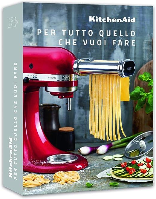 KitchenAid Libro DI RICETTE per Tutto QUELLO CHE VUOI Fare CCCB_IT, None: Amazon.es: Hogar